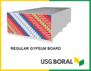 Gypsum ceiling material REGULAR GYPSUM BOARD