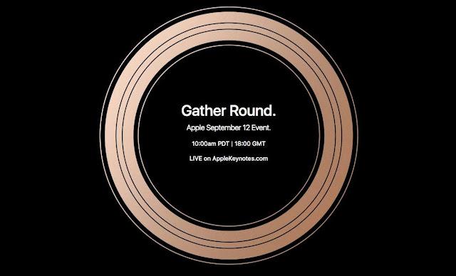 Event 2018 Keynote Live stream Apple iPhone - apple keynote 2018