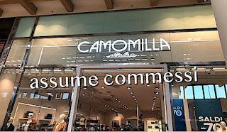 Camomilla Italia assume commessi - adessolavoro.blogspot.com