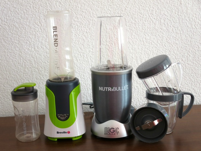 Blenders: Breville Blend Active vs NutriBullet