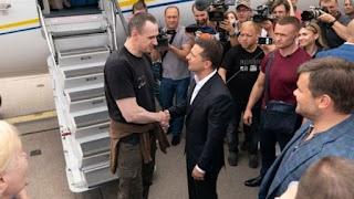 Сенцов подякував Путіну і висловився про Зеленського