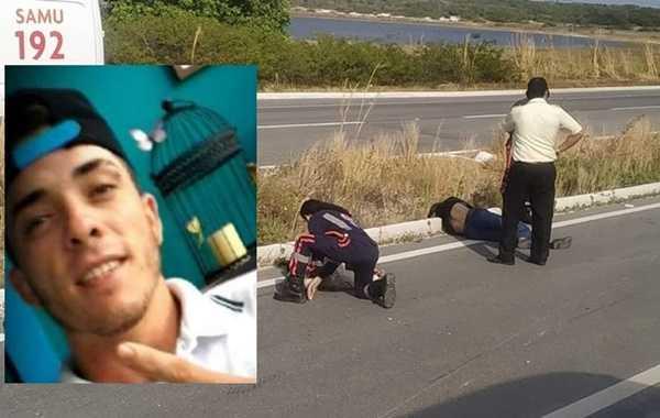 Homem morre e mulher fica ferida em acidente no Beberibe