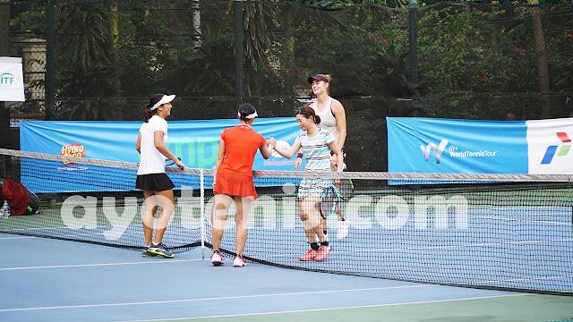 Aldila Sutjiadi Melenggang ke Semifinal Turnamen Tenis Pertamina 25K ITF Women's Circuit