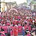 Arrastão da Mulher leva milhares de pessoas para as ruas de Bacabal em apoio a Edvan Brandão