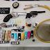 Polícia Civil apreende armas e drogas em festa com Som alto no Interior de Sergipe