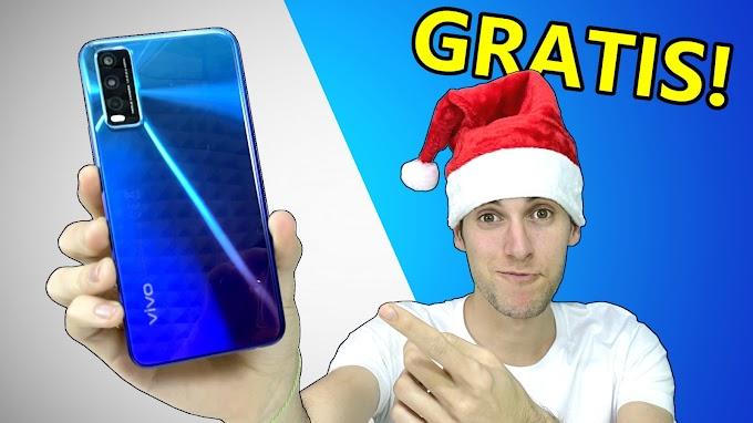Sorteio de um smartphone Vivo Y20s 128GB