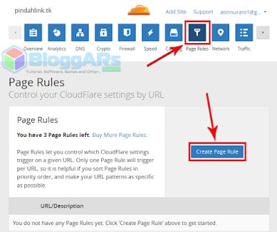 Tahap Mengatur SSL Gratis Cloudflare