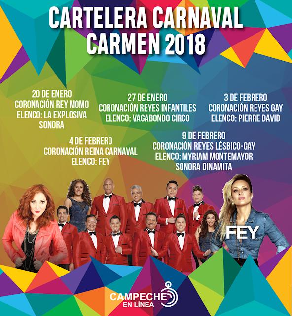 carnaval ciudad del carmen 2018