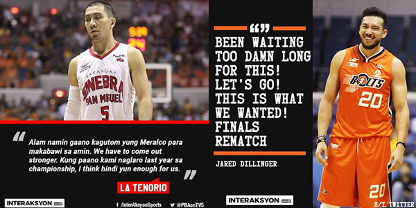 List of Game History between Ginebra and Meralco, who has the edge?