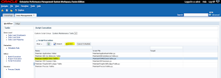 FDMEE: System Maintenance Tasks: Maintain FDMEE Data Tables