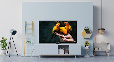 Full HD LED TV and an Ultra HD LED TV
