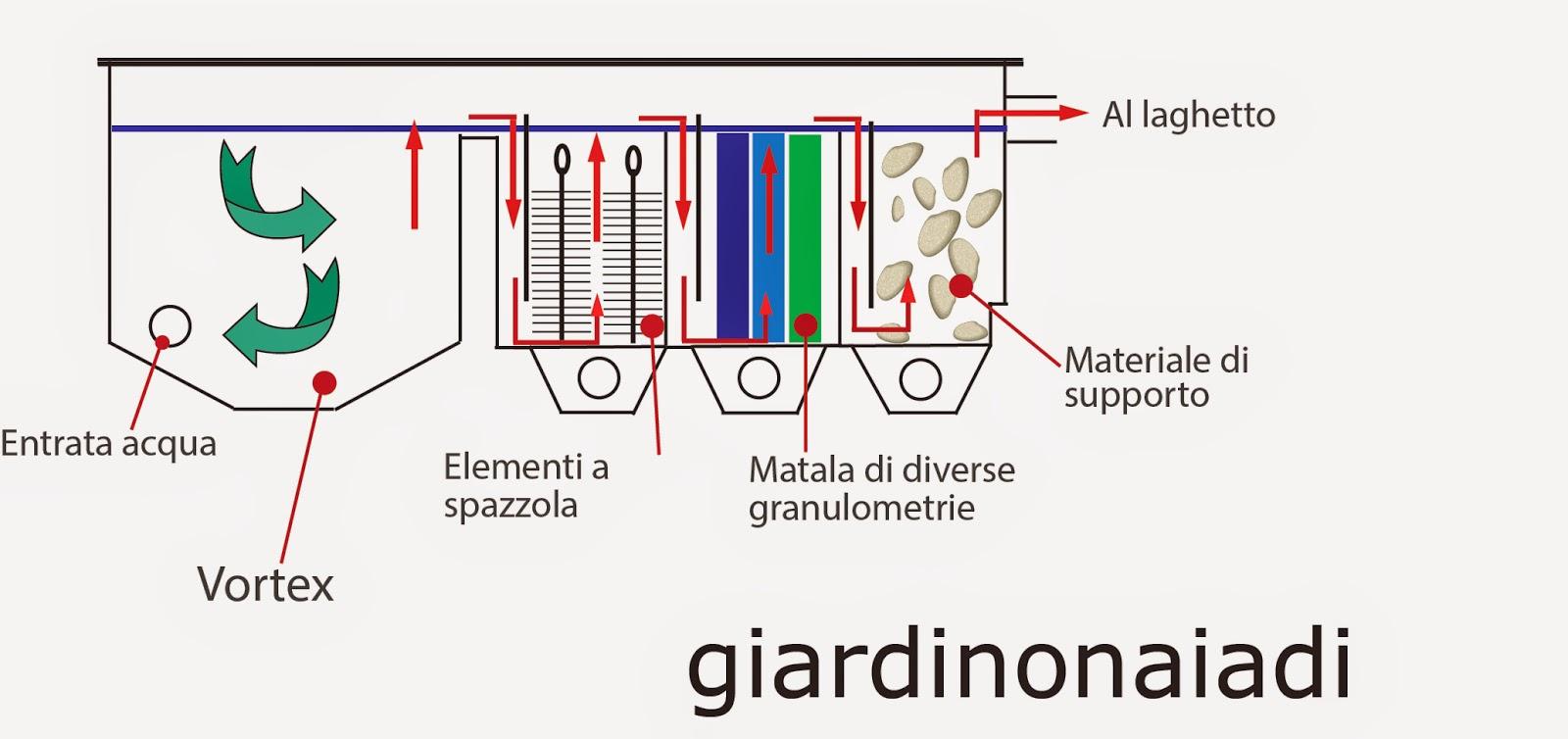 Il giardino delle naiadi filtrazione naturale e tecnica for Laghetto da interno