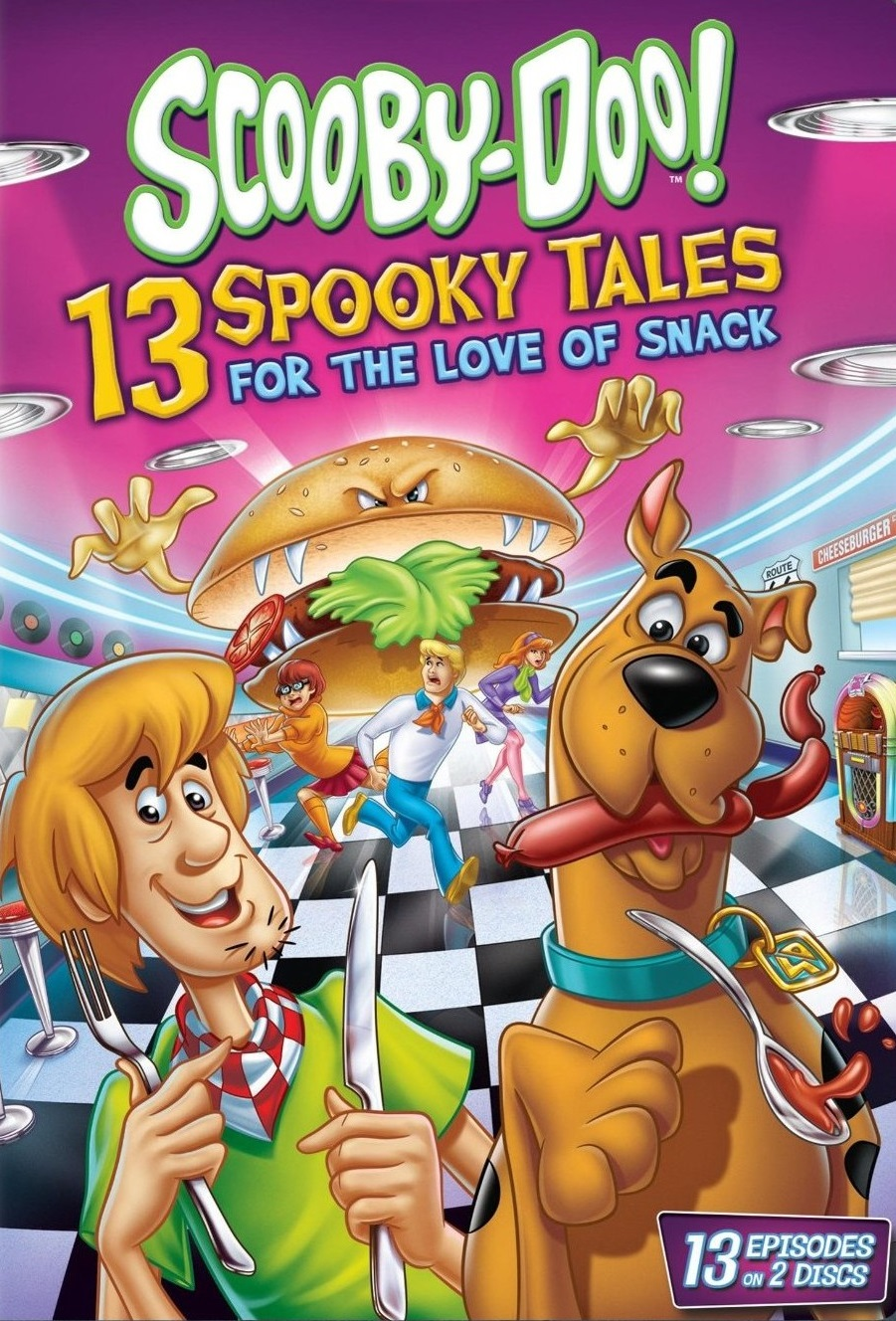 Scooby-Doo: 13 Spooky Tales Love of Snack [2014] [DVD9] [NTSC] [Latino] [2 DISC]