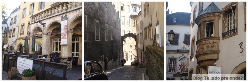 caminhando por Luxemburgo