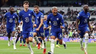 اجتاح تشيلسي توتنهام بثلاثة في الجولة الخامسة من الدوري الإنجليزي