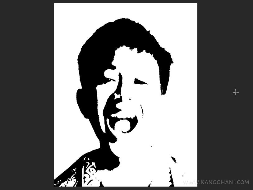 Cara Membuat Efek Stencil Dengan Photoshop Kang Ghani