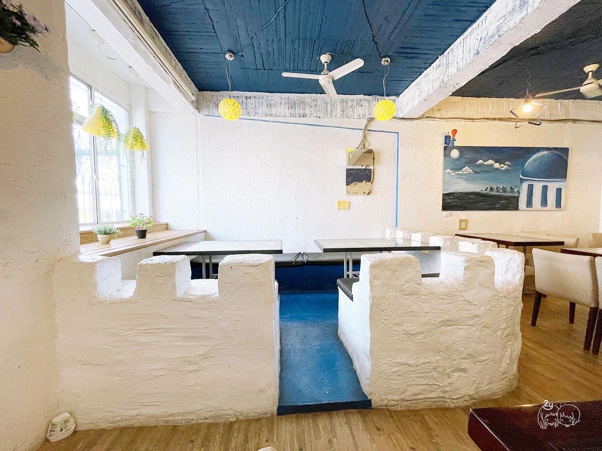 台南美食|北區 伊甸風味館|地中海風情的平價餐廳|焗烤燉飯推薦|超濃郁會牽絲的義式料理