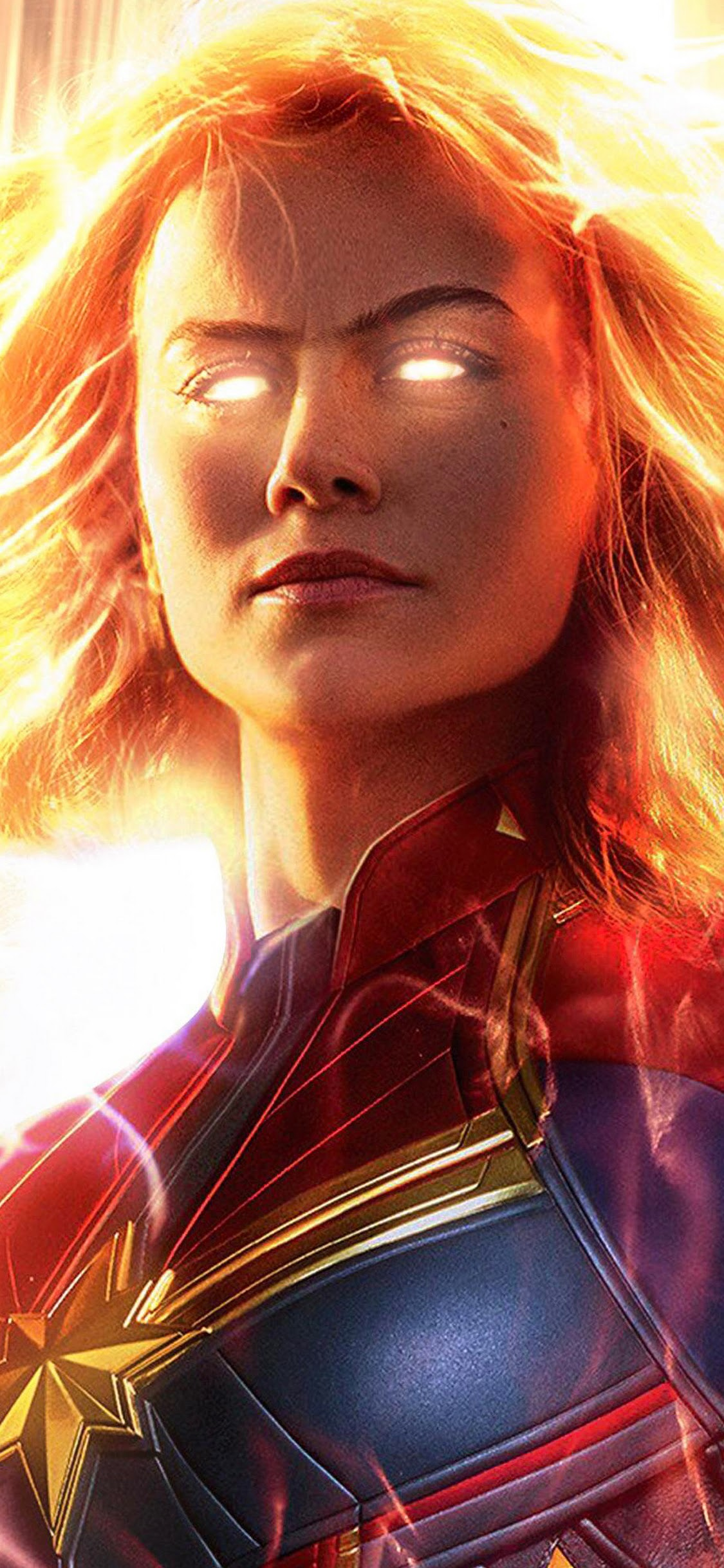 Captain Marvel Movie Brie Larson 4k Wallpaper 2