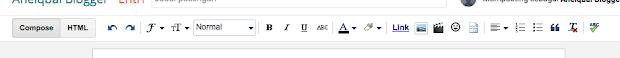 cara membuat artikel di blogger