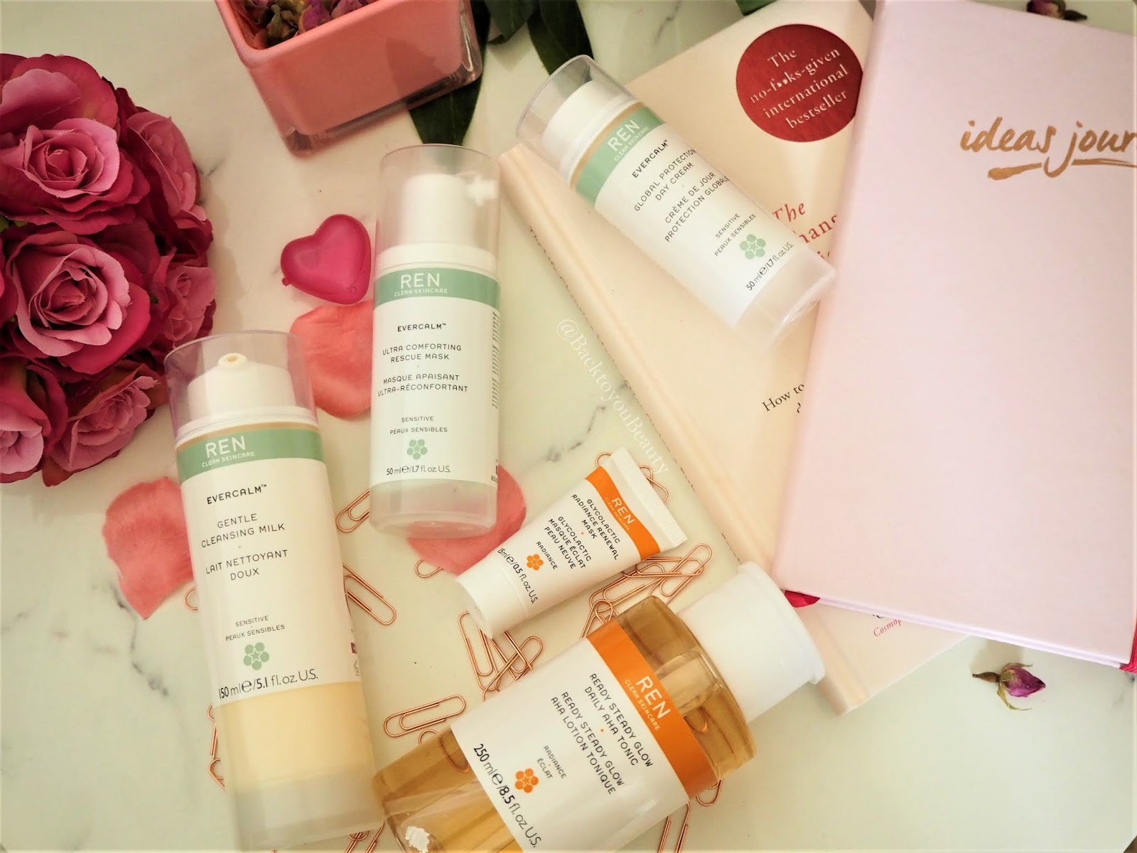 Ren launches on qvcuk