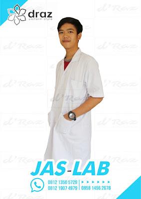 Harga Konveksi Jas Laboratorium lengan pendek satuan 0812 1350 5729
