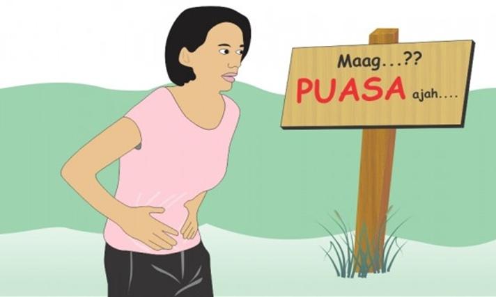 Niat Puasa Ramadhan, Begini Tips Bagi Penderita Maag
