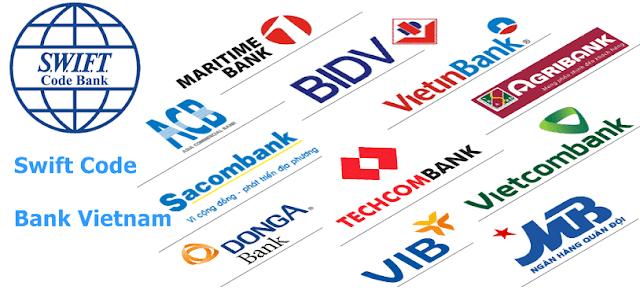 Mã swift code của các ngân hàng Việt Nam