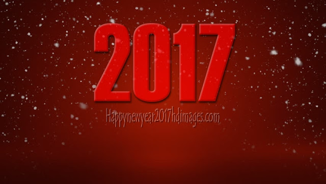 Happy New Year 2017 Full HD Pictures With Sparkling Background Download For Desktop