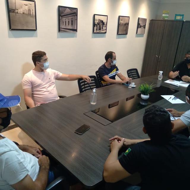AAIEC realiza Reunião Administrativa para traça metas importantes para o esporte caraubense