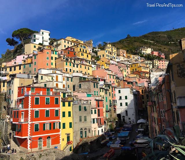 Village de Riomaggiore, Cinque Terre, Italie