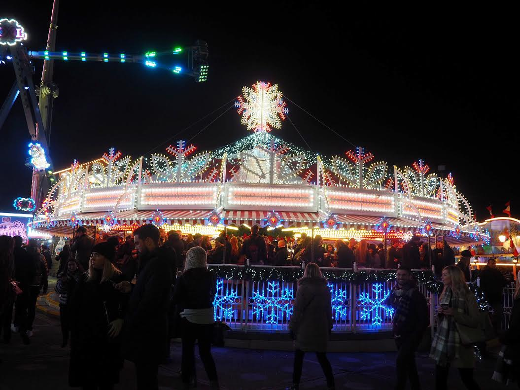 Winter Wonderland carousel bar