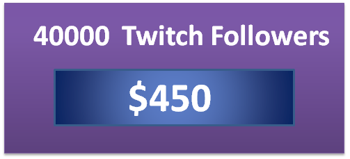 40000 buy live stream viewers, buy active twitch followers