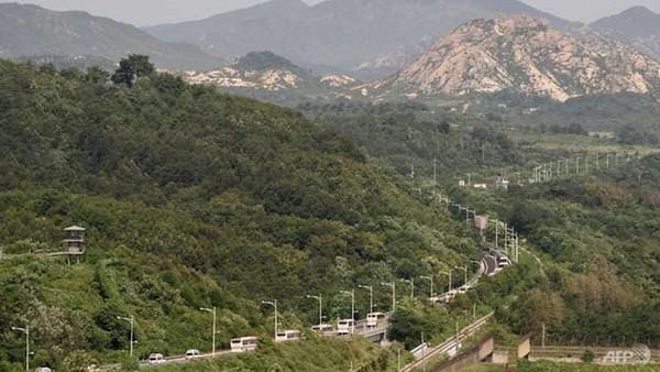 Militer Korea Utara dan Korea Selatan Baku Tembak di Zona Demiliterisasi