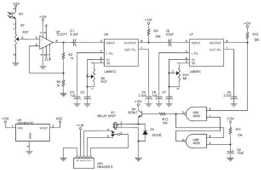 rangkaian    skema remote control pengaman sepeda motor