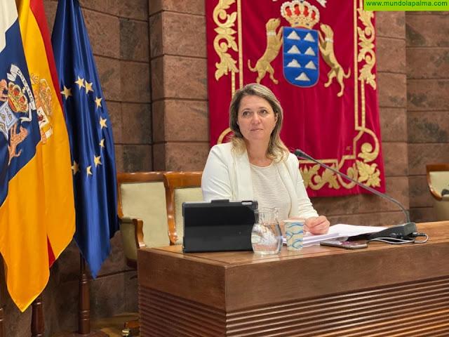 Alicia Vanoostende explica las líneas estratégicas del Plan de Soberanía Alimentaria para Canarias