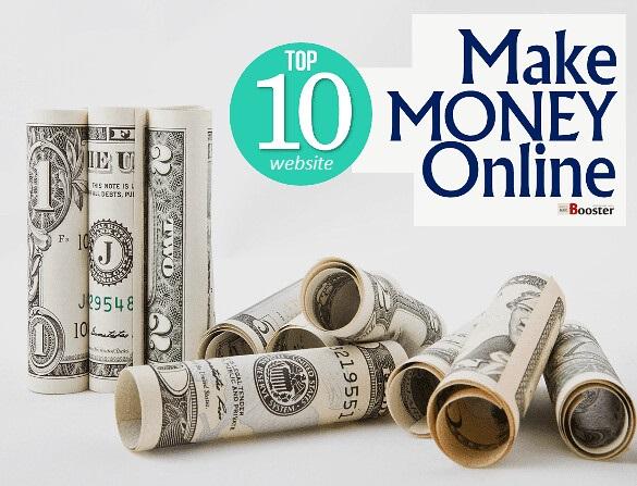 top 10 website to male money online