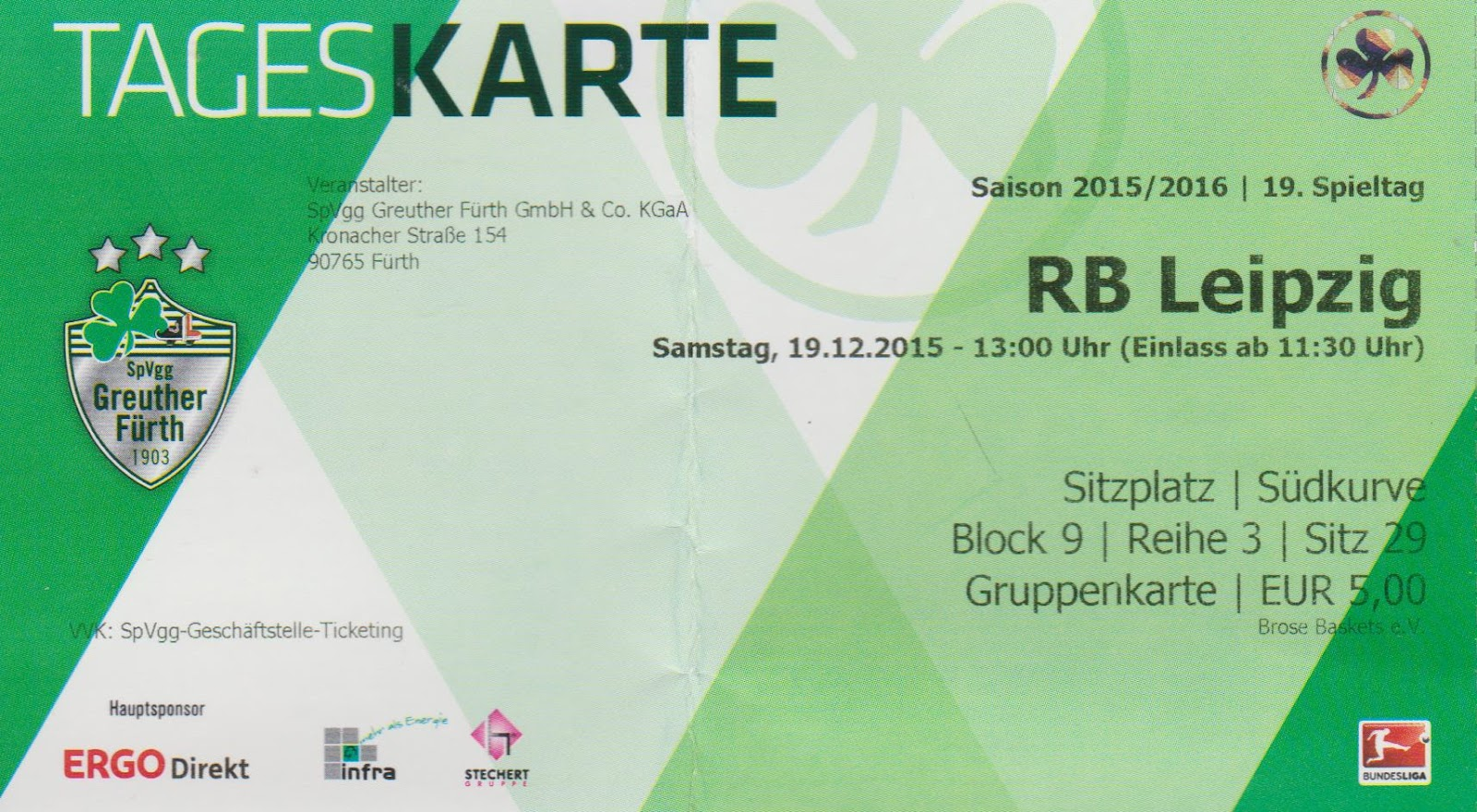 Mm Groundhopping Greuther Fürth Rb Leipzig