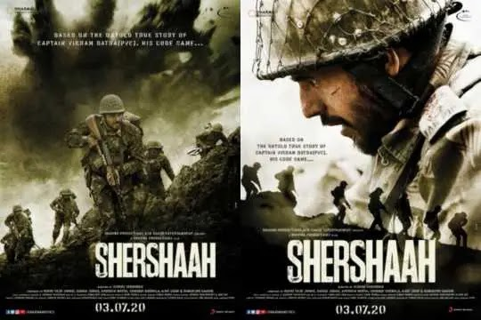 Upcoming movie Shershaah (2020) review, cast, trailer and release date