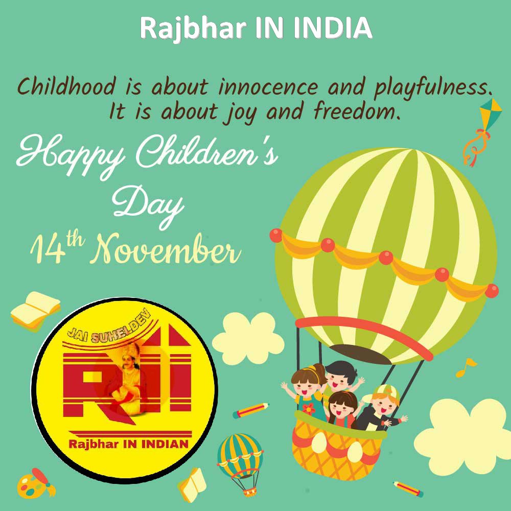 %2523HappyChildensDay2 Best Children's Day Wishes in hindi || Rajbhar IN INDIA