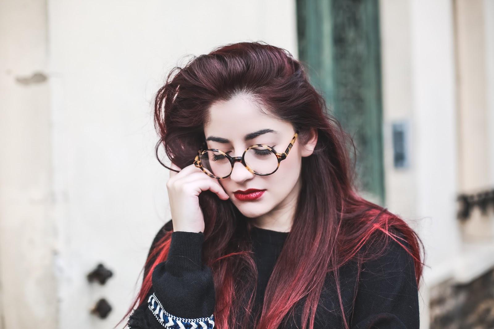 lunettes de vue écaille retro