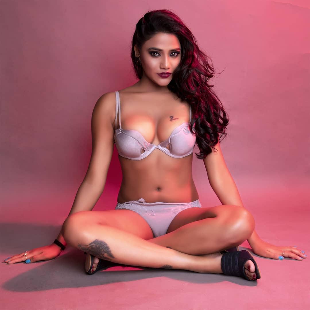 Rukmani Khandagale Full Bikini Photos