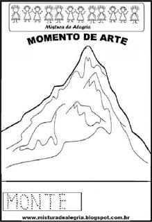 Projeto Pátria, desenho de monte
