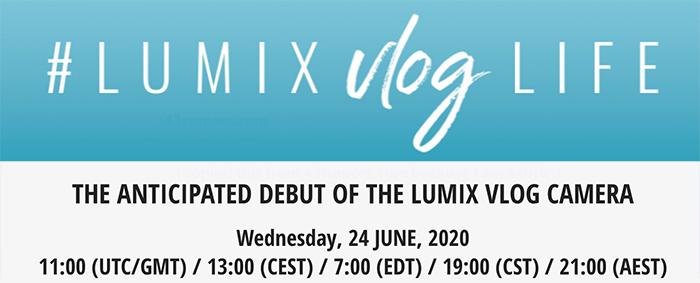 Баннер-тизер Lumix Vlog Life