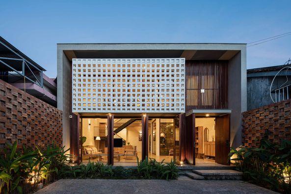 Ngôi nhà tuyệt đẹp tại thành phố Kon Tum