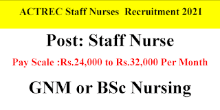 Staff Nurse Jobs 24000-32000 Salary per Month