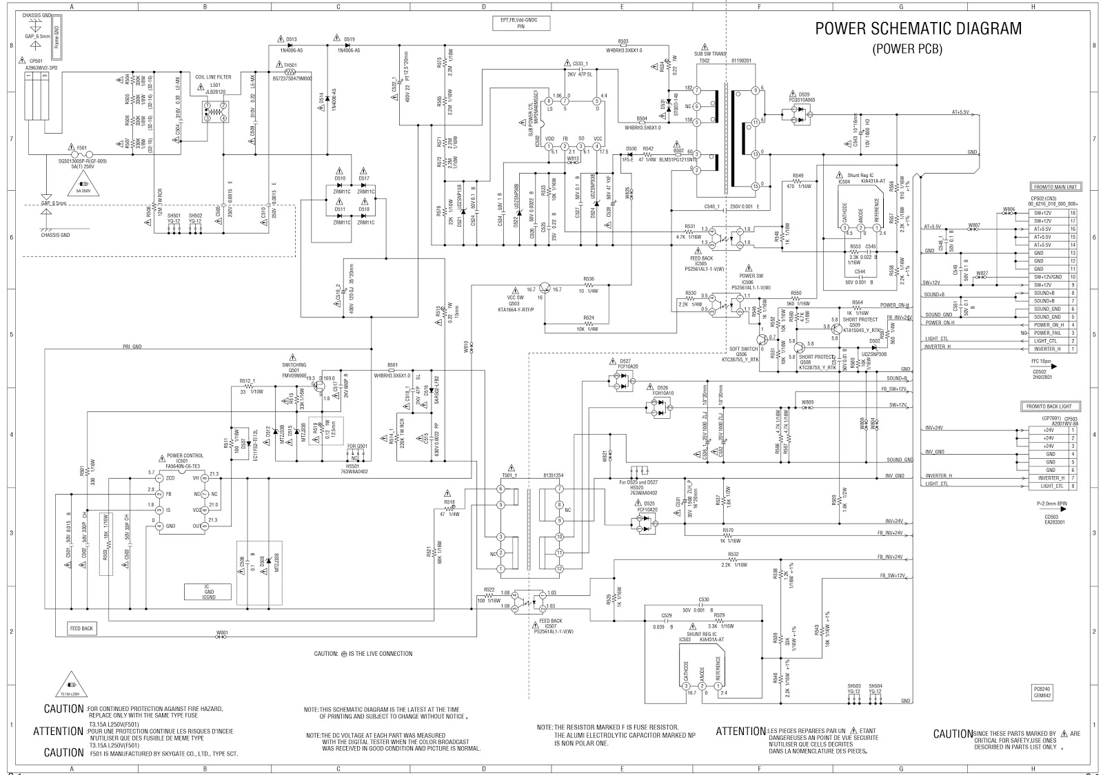 Outstanding Hitachi Le29H306 Lcd Tv Smps Schematic Schematic Diagrams Wiring Cloud Hisonuggs Outletorg