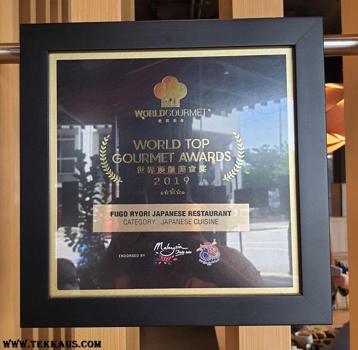 Fugo Ryori Award Winning Japanese Restaurant Melaka
