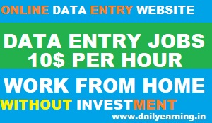 Online Data Entry Jobs | Work From Home Job Without Investment