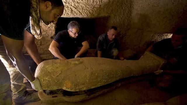 Egypt discovers 13 Coffins with more than 2,500 year old Mummies - Saudi-Expatriates.com
