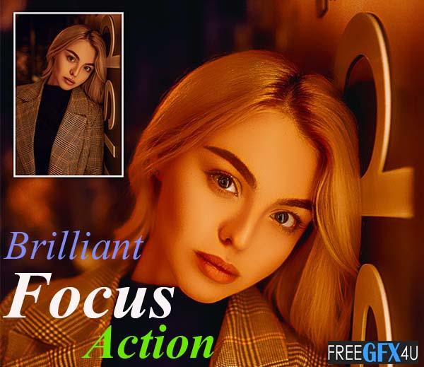 Brilliant Focus Action - Photo Effect